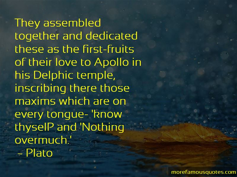 Temple Of Apollo Quotes Pictures 4