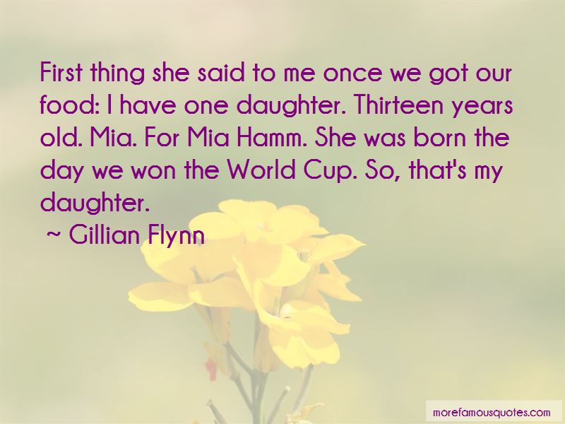 That's My Daughter Quotes