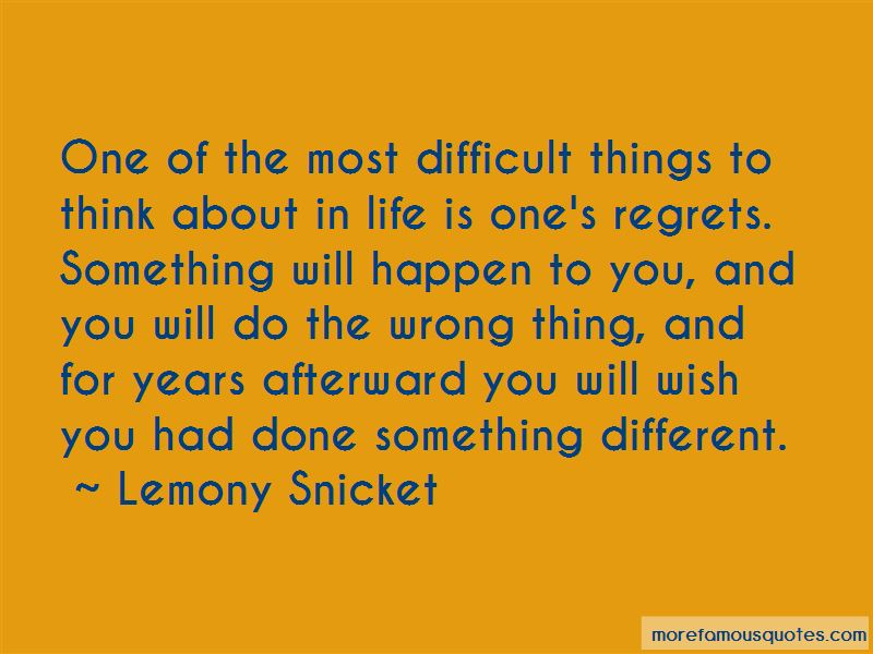 Things To Think About In Life Quotes