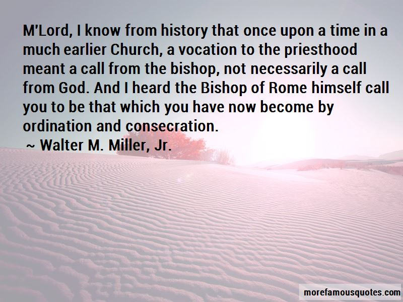 Vocation For Priesthood Quotes