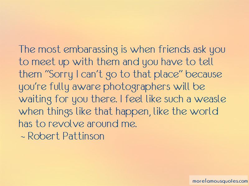 Waiting To Meet Friends Quotes