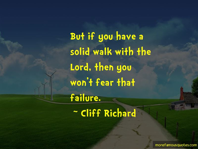 Walk With The Lord Quotes