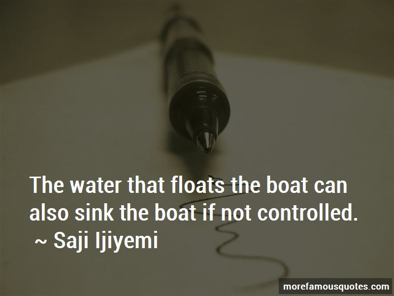 Water Boat Quotes