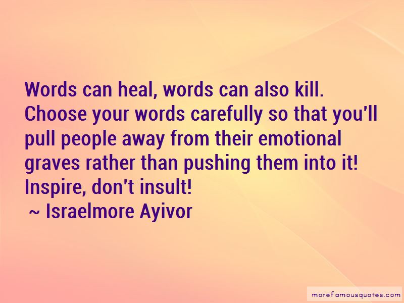 Words Can Heal Quotes Pictures 2