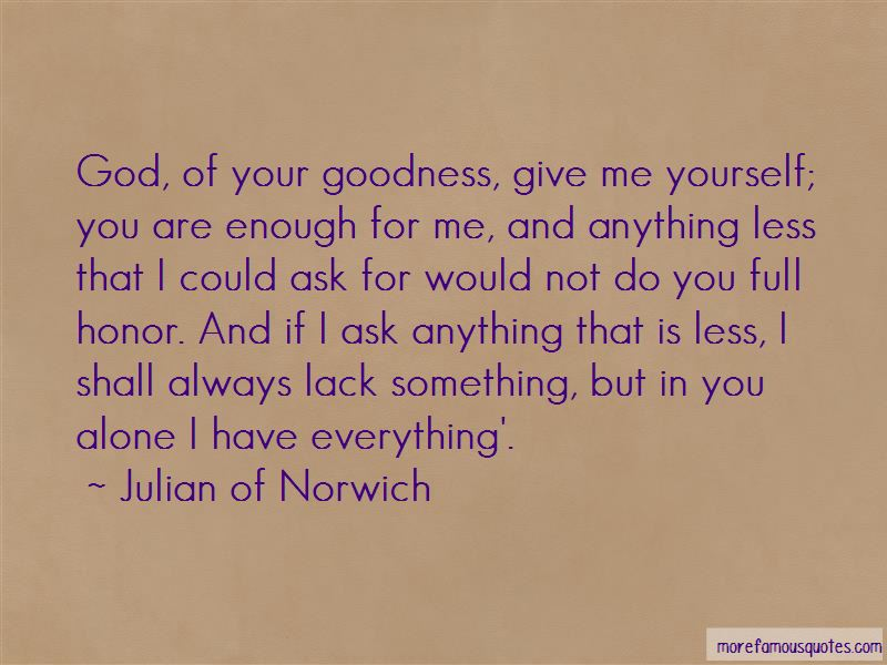 You Are Enough For Me Quotes
