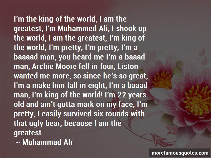 Ali Vs Liston Quotes