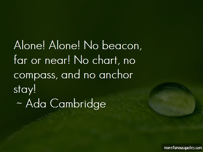 Anchor And Compass Quotes