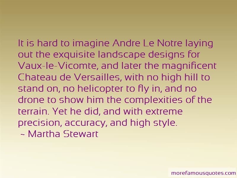 Andre Le Notre Quotes