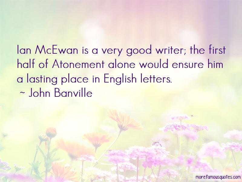 Atonement Mcewan Quotes