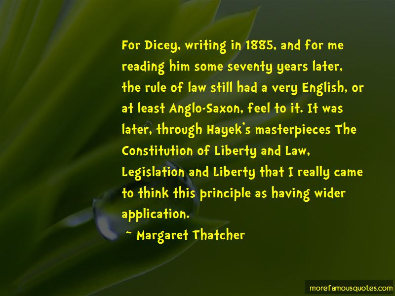Av Dicey Constitution Quotes