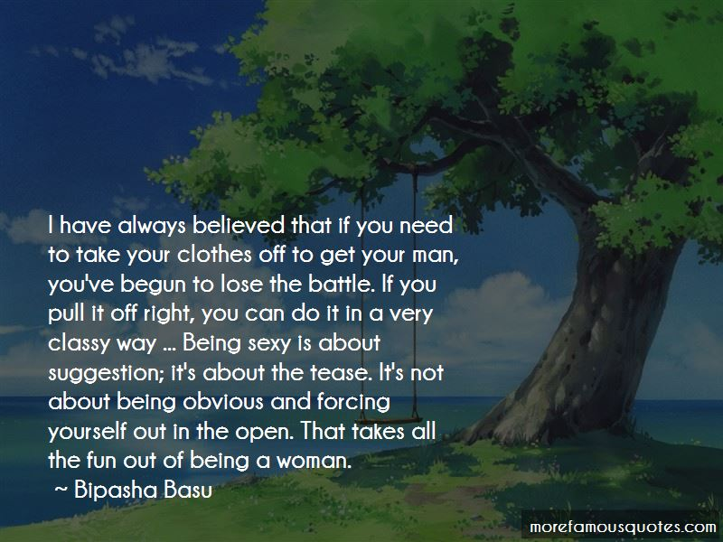 Being Classy Man Quotes