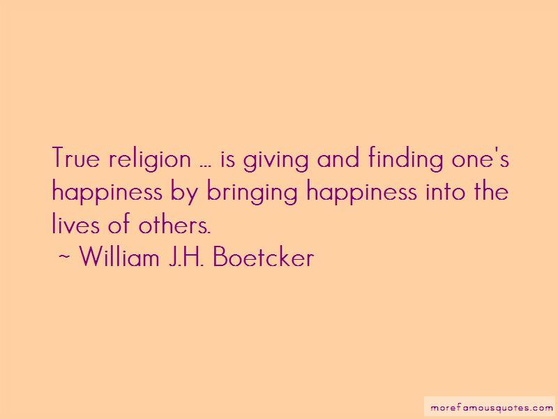 Bringing Happiness Quotes