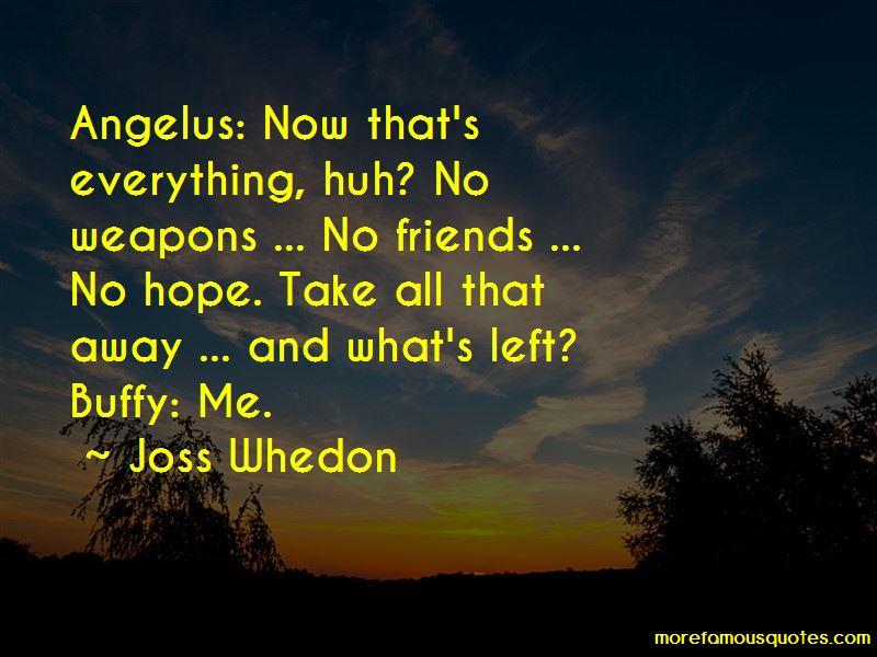 Buffy Angelus Quotes
