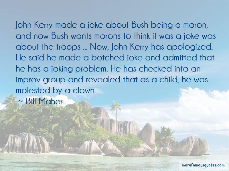 Bush Moron Quotes