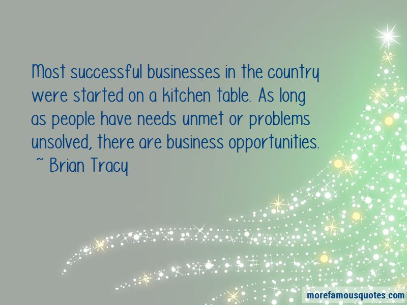 Business Opportunities Quotes