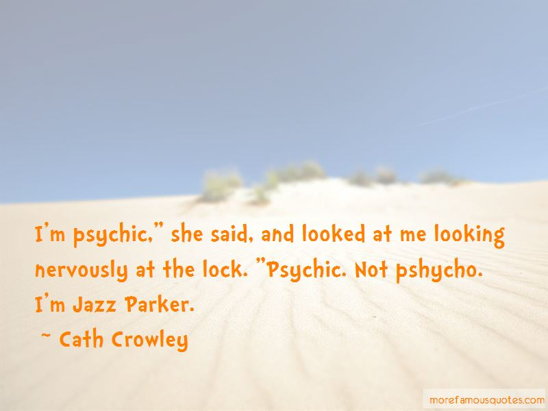 Cd Parker Quotes