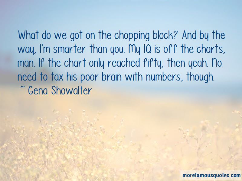 Chopping Block Quotes