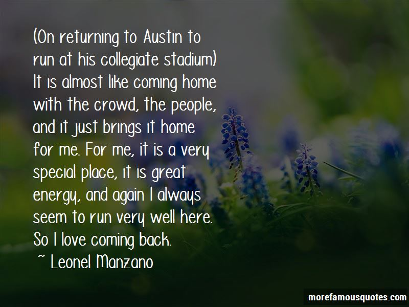 Coming Home Love Quotes Pictures 2