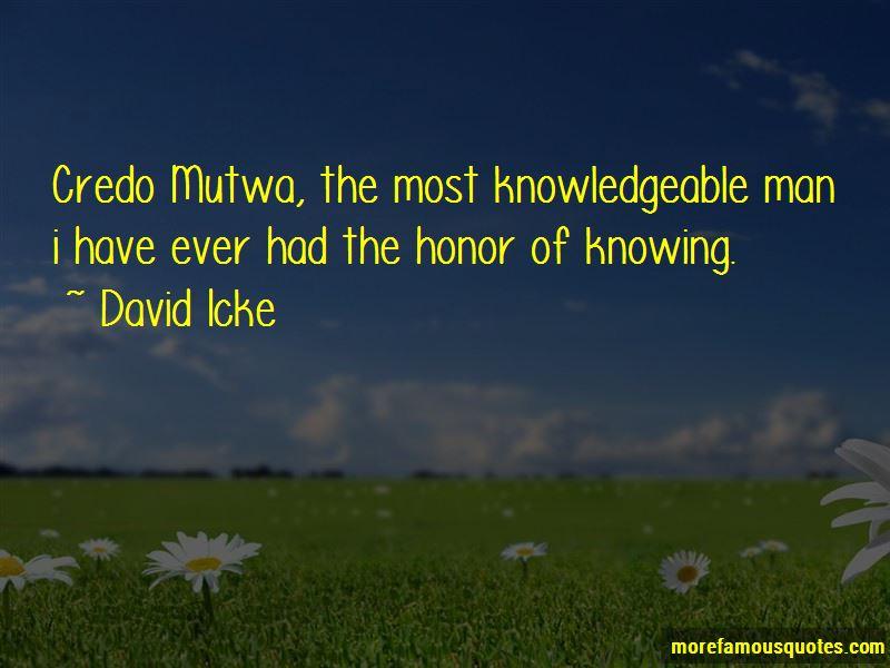 Credo Mutwa Quotes