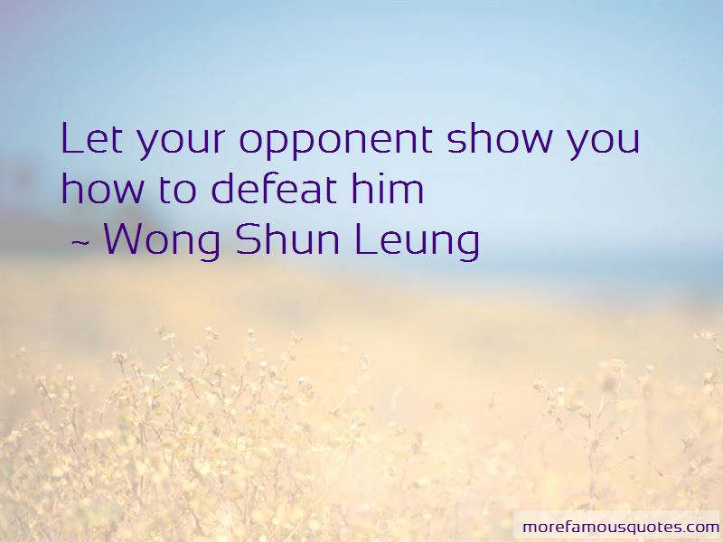 Defeat Opponent Quotes Pictures 2