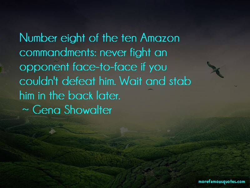 Defeat Opponent Quotes Pictures 4