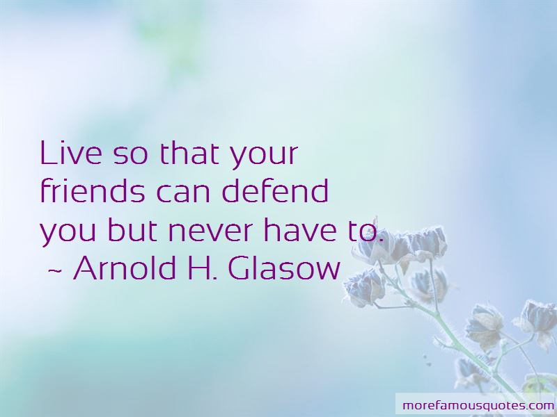 Defend Your Friends Quotes Pictures 2