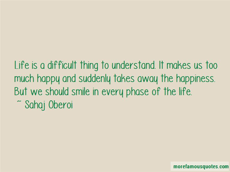 Difficult Phase Of Life Quotes