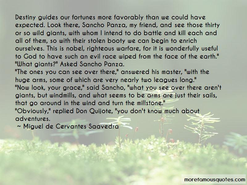 Sancho panza quotes