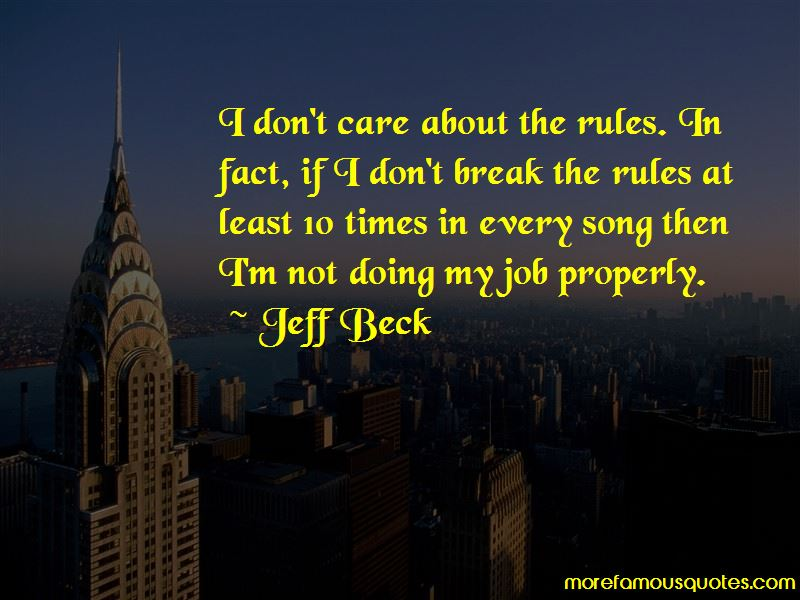 Don't Break The Rules Quotes