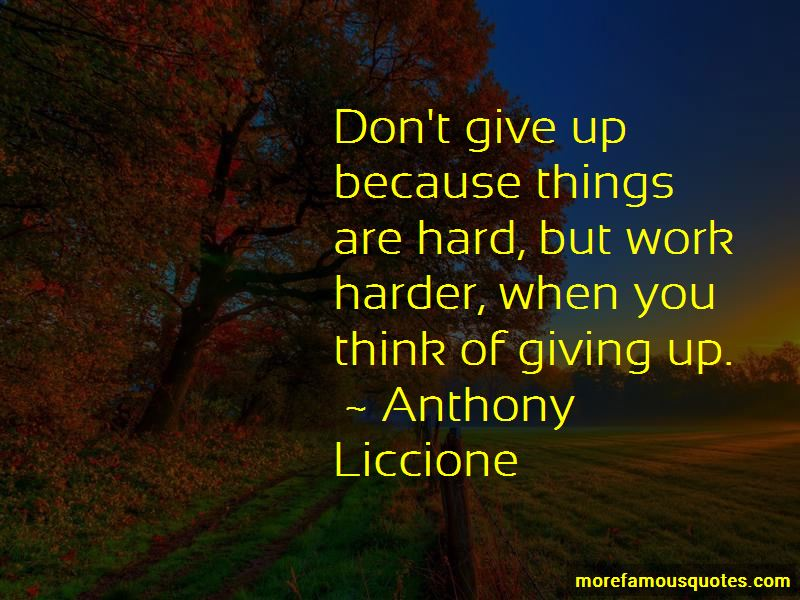 Don't Give Up Because Quotes