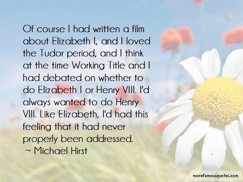 Elizabeth Tudor Quotes