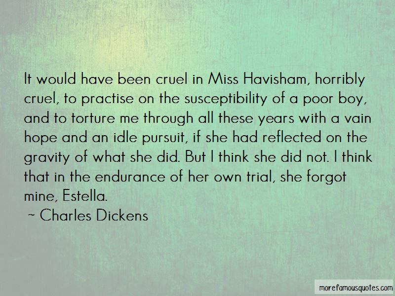 Estella Havisham Quotes
