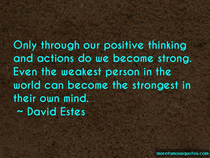 Even The Strongest Person Quotes