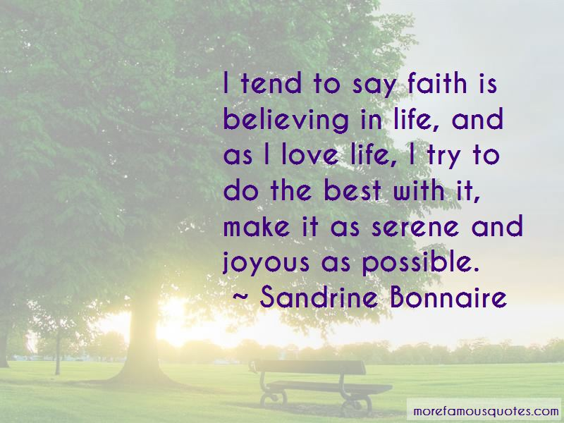 Faith Is Believing Quotes