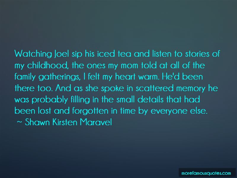 Family Tea Time Quotes Pictures 4