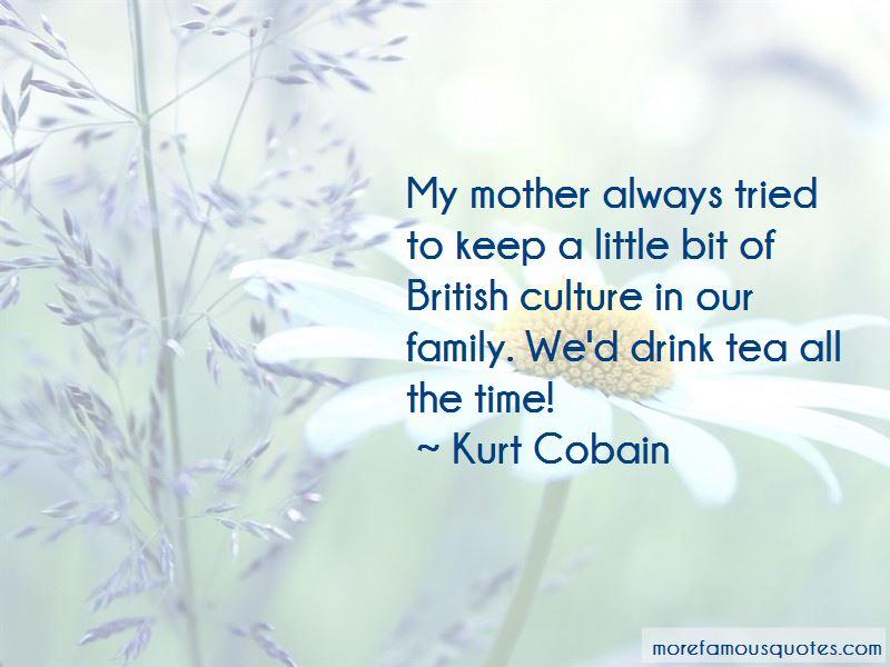 Family Tea Time Quotes