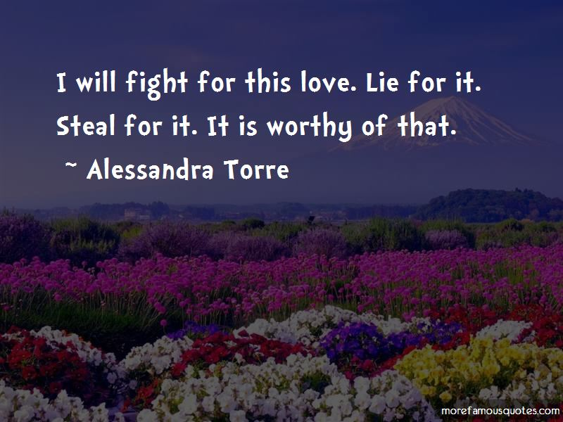 Fight For This Love Quotes