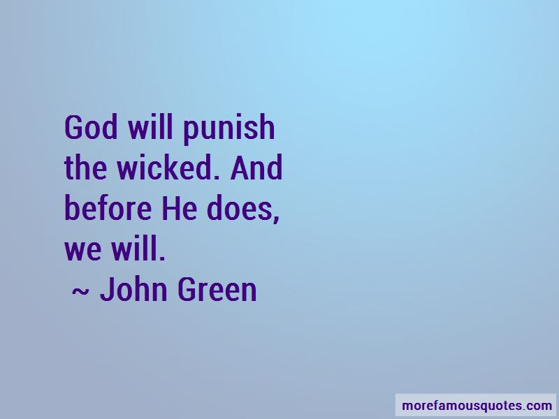 God Will Punish Quotes Pictures 4