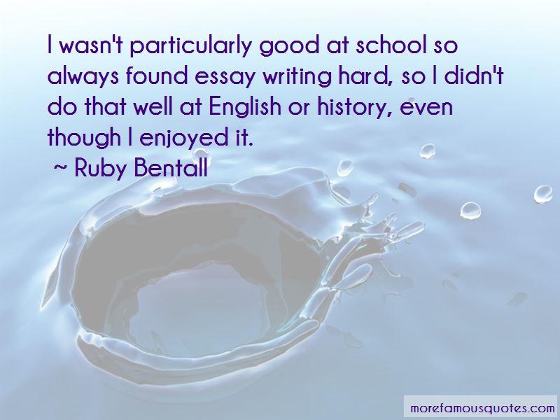 Good English Essay Quotes