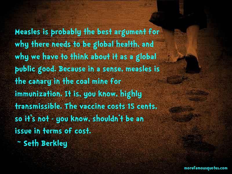 Good Immunization Quotes