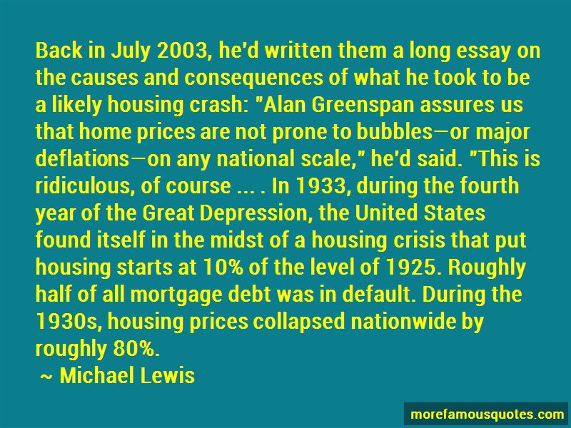Great Depression Causes Quotes Pictures 2