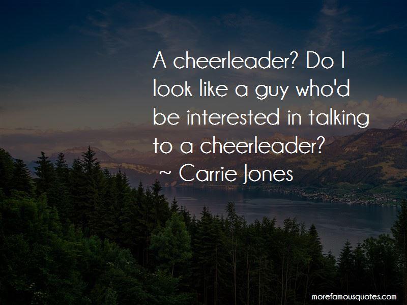 Guy Cheerleader Quotes