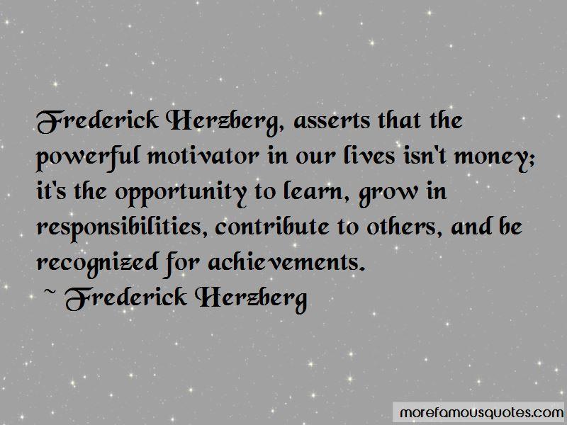 Herzberg Quotes