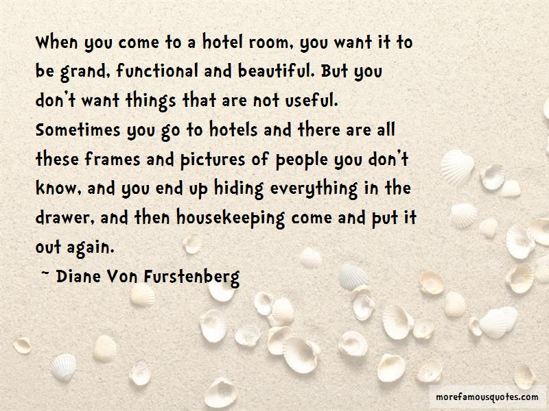 Housekeeping Hotel Quotes