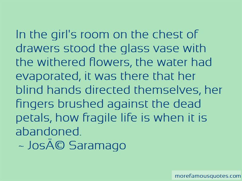 How Fragile Life Is Quotes