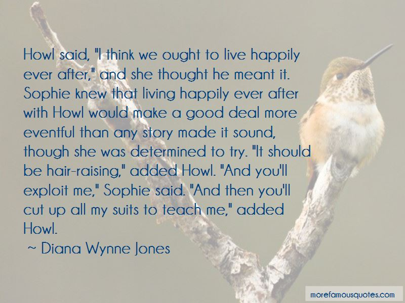 Howl And Sophie Quotes