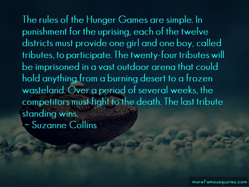 Hunger Games Districts Quotes