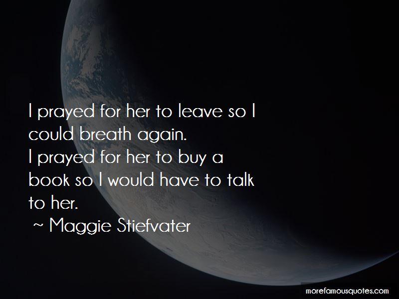 I Prayed Quotes