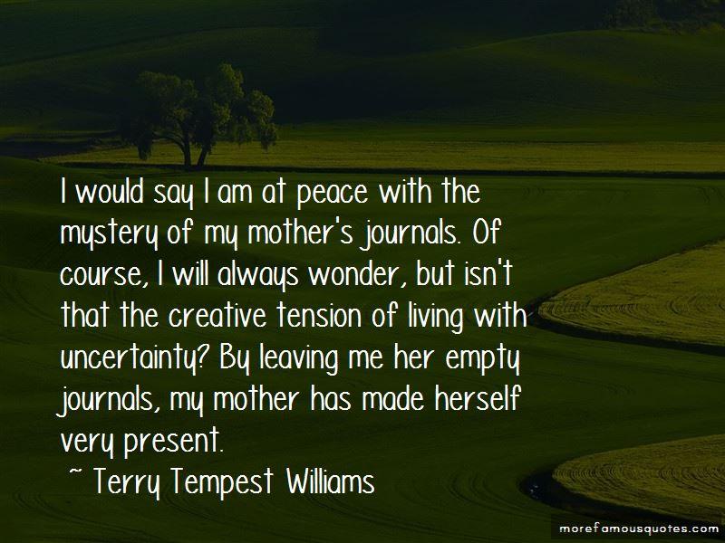 I Will Always Wonder Quotes