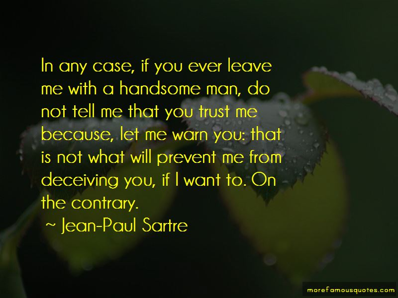 If You Ever Leave Quotes